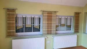 gardinen übergardine wohnzimmer ohne scheibengardinen