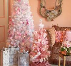 Little Girls Will Be Thrilled With This Pink Themed Christmas Tree Fluffy Fairy Lights Sparkly Snowflakes And Glitter Angels Are Combined