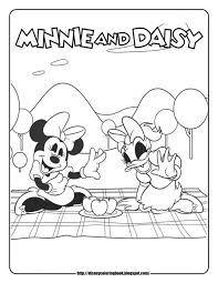 Mickey Mouse Clubhouse Coloring Pages Free Printable 83186