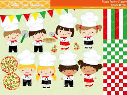 Chef Clipart Pizza Party Little Clip Art And