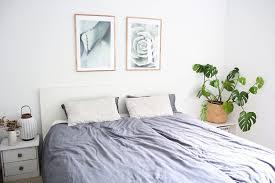 minimalismus im schlafzimmer design dots