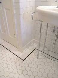 this for the small powder room creative tile flooring