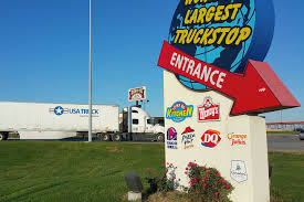 100 Truck Stops In Iowa Entrance To 80 Stop Lolos Extreme Cross Country RV Trips