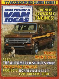 March 1977 1001 Truck & Van Ideas Custom Vans Magazine | #1845257189