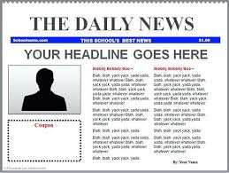 Newspaper Template Throughout Templates Article Layout For Word