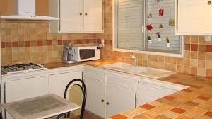 rénover plan de travail cuisine carrelé peinture carrelage cuisine plan de travail attrayant revetement