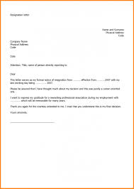 Free Download Sample Resignation Letter Resignation Letter Format In