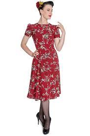 vintage style 1940s plus size dresses