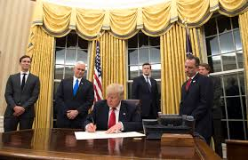 What Is A Muslim Prayer Curtain by Donald Trump Already Redecorated The Oval Office And Of Course