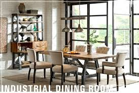 Industrial Dining Table Room John Lewis Style With Bench