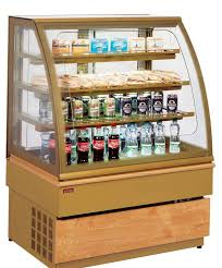 Refrigerated Display Case With Shelves For Shops GEORGIA III UNIS COOL