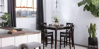 Transitional Dining Room With Pierce Set