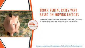 100 Moving Truck Rental Company VS Companies Like Uhaul