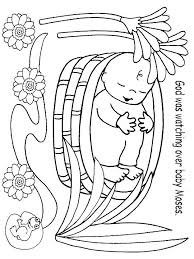 Bible Coloring Pages Moses Manna Page Baby Craftscrafts For Preschoolersbible