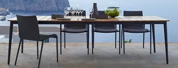 gartentisch luxus gartentische aus holz metall villa
