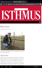 100 Daily Page Isthmus Beer Buzz Madison Wisconsin The Hop Garden