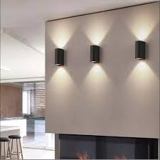 mini 9 w cube cob led wand licht moderne indoor hause dekoration up kopf aluminium schlafzimmer flur treppen wohnzimmer wand le