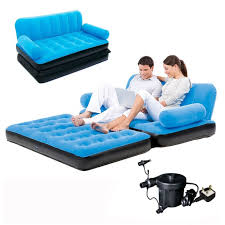 intex inflatable pull out double sofa bed centerfieldbar com