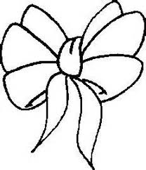Christmas Bows Coloring Pages 02