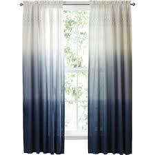 Moroccan Tile Curtain Panels by Blue Curtains U0026 Drapes You U0027ll Love Wayfair