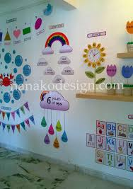 Kindergarten Decoration Ideas Small Home Creative At Wall Opulent School