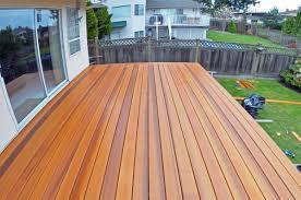 cedar decking wood decks coquitlam
