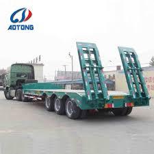 100 Semi Truck Trailers Hot Item Excavator And Road Roller Transporter Lowboy