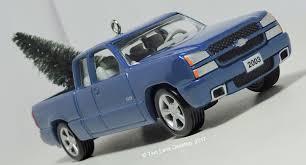 100 Chevy Truck Ss Hallmark Ornaments 143 1976 Stepside And 2005 Silverado