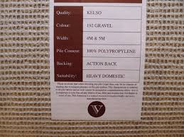 Check Carpet by Marks Carpet Shop Kelso 4m Or 5m Wide 100 Polypropylene Heavy