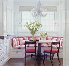 Booth Dining Room Set Kitchen Seating Ikea Awesome Red