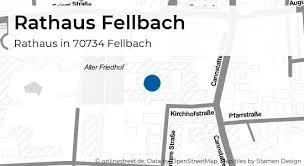 rathaus fellbach marktplatz in fellbach rathaus