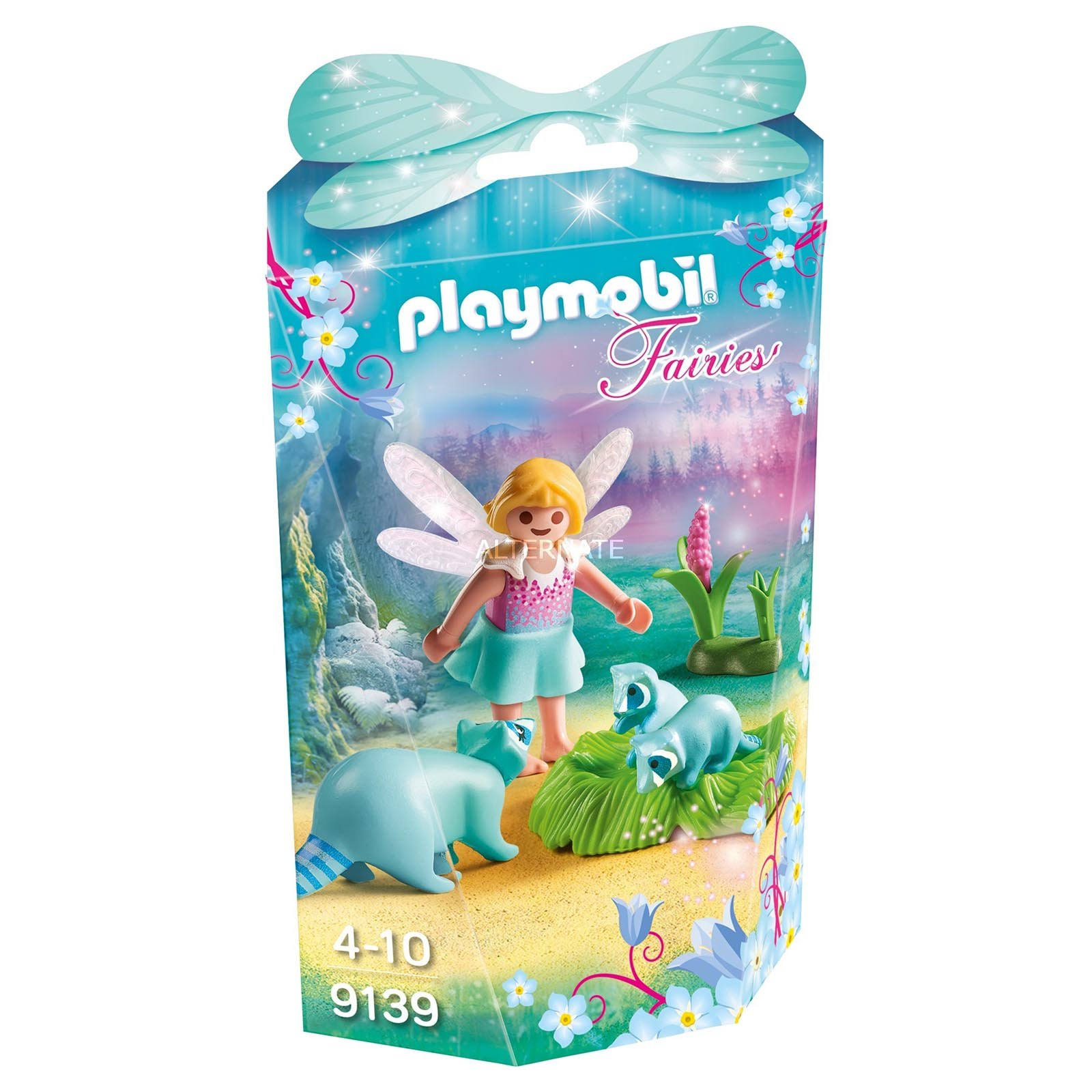 Playmobil Fairy With Bears Washers Action Figure Toy