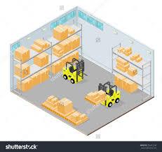 Storage Warehouse Clipart 6