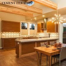 mid century modern cement tile shop