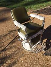 Emil J Paidar Barber Chair Headrest by Antique Barber Chairs Ebay