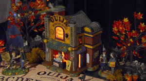 Lemax Halloween Village Displays by Snow Village Halloween Ouija