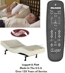 Leggett And Platt Adjustable Bed Headboards by Twin Xl Leggett U0026 Platt Scape Adjustable Foundation