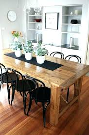 Dining Table With Bench Seats Round Seat The Look