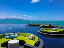 100 W Hotel Koh Samui Thailand David Chong Peter G Benoit C Phangan Bookings