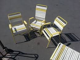 100 1960 Vintage Metal Outdoor Chairs 60s 70s Vinyl Strap Patio Lawn Chair Lounge Set