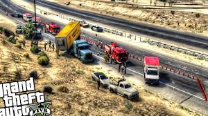 Big Rig Truck Highway Crash - GTA 5 PC MOD - YouTube Euro Truck Simulator 2 Online Multiplayer Crashes Compilation 9 Funny Moments Crash M1 Motorway 9th November 2012 Youtube Fire Hit Headon In Tanker Truck Crashes At Boardman Intersection Car Crashes In America Usa 2018 83 1 Car Russian Accidents Road After Apparent Police Chase Southwest Detroit Best New Winter 2017 Hardest Trucks Accidents Terrible Truck Crash Compilation Driving Fails And Caught On