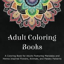 Adult Coloring Book Ocean Animal Patterns 989 Get Down With The Sea Creatures When You Dive Into Pages Of This