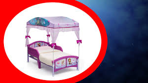 Minnie Mouse Canopy Toddler Bed by Disney Frozen Canopy Toddler Bed Reviews Youtube