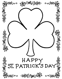 Gorgeous Inspiration Saint Patrick Coloring Pages St Patricks Day And Activities For Kids