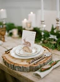 mariage scandinave deco de table mariage original mariage
