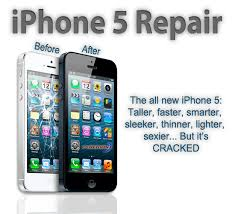 iPhone 5 Screen and LCD Repair of Olney MD