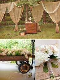 Add Burlap Curtains To Your Outdoor Or Indoor Wedding Event Perfect Rustic