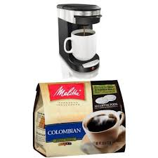 Hamilton Beach 49970 Personal Cup One Pod Brewer And Melitta Coffee Pods Colombian Pack Of