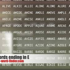 5 Letter Words Ending In E – Youtube inside 5 Letter Words That