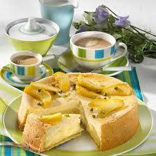 apfel quark kuchen mit pistazien